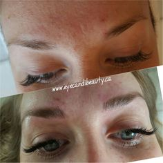 3D Brows Embroidery / microblading / feather stroking calgary Alberta Www.eyecandibeauty.ca