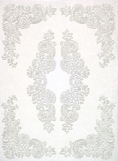 Rice Paper for Decoupage Decopatch Scrapbook Craft Sheet White Lace