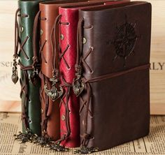 Cheap Notebooks, Buy Directly from China Suppliers: MiC 2014 NoteBook Newest Hot slae Diary Book Vintage Pirate Anchors PU leather Note Book   material: paper + PU + iron