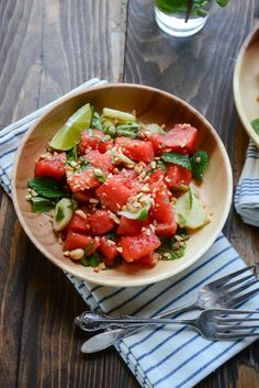 10 Ways Watermelon Makes The Best Salads @huff