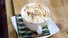 This homemade fall pumpkin spice latte is made with cinnamon, ginger, nutmeg and cloves. Sweetened Whipped Cream, Sugar Pumpkin, Fall Drinks, Smoothie Drinks, Smoothies, Pastry Blender, Recipe Sites, Pumpkin Spice Latte, Holiday Recipes