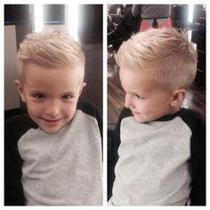 New Hair Cut new v cut hair style Cute Little Boy Haircuts, Boy Haircuts Short, Cool Boys Haircuts, Little Boy Hairstyles, Toddler Boy Haircuts, Haircut Short, Baby Boy First Haircut, Kids Hairstyles Boys, Boys Fade Haircut