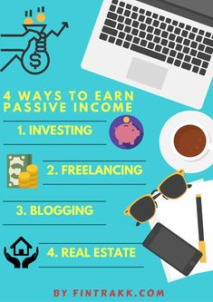 Passive Income Infographic,how to earn passive income,ways of passive…