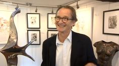 Anton Lesser from popped in to the gallery in October during Battle Festival. Anton Lesser, Endeavour Morse, Celebrity Crush, Beautiful Men, Battle, Crushes, October, Actors, Colour