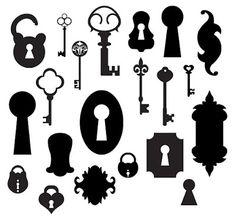 KLDezign+les+SVG:+Clé,+cadenas,+serrure