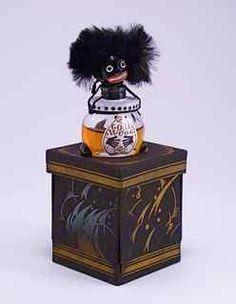 1920s Vigny Golliwogg Perfume Bottle