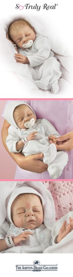 What would you name this newborn baby girl doll to make her truly your own?