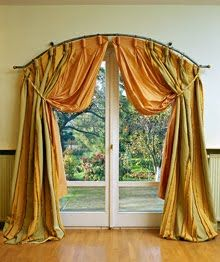 Curtains For Arched Doorway Curtains for Windows