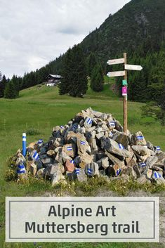 Six oeuvres by Vorarlberg artists installed at the panoramic Muttersberg overlooking the town of Bludenz invite you to marvel and reflect. Each of these works of art deals with life in the mountains. Invite, Invitations, Reflection, It Works, Marvel, Artists, Mountains, Words, Life