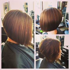 Graduated cut... this is what I want if I ever get up the nerve