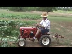Wheel Horse in the garden - YouTube