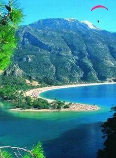 Fethiye  Ölüdeniz  Türkiye   Playa