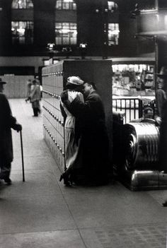 by Louis Faurer | Pennsylvania station
