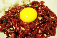 육회 YukHwae: Korean steak tartar