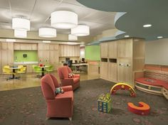 Family room, Elizabeth Seton Pediatric Center, Yonkers, N.Y. Copyright Chris Cooper.