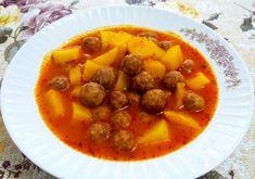 Yemeklere Konulan Misket Köftenin Yapılışı (Patatesli Misket Köfte) #yemeklerekonulanmisketköfteninyapılışı #köftetarifleri #nefisyemektarifleri #yemektarifleri #tarifsunum #lezzetlitarifler #lezzet #sunum #sunumönemlidir #tarif #yemek #food #yummy Turkish Recipes, Ethnic Recipes, Pot Roast, Thai Red Curry, Food And Drink, Turkey, Pasta, Cooking, Health