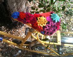 funny bike #crochet #bike #tambouille
