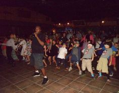 Wobbling at our dance last summer!