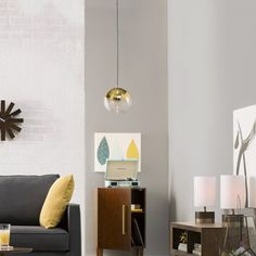 Langley Street Gehry 1 Light Pendant | AllModern