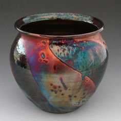 Raku pottery origins are from the 16th Century by Korean potters under Japanese rule in Japan. Description from pinterest.com. I searched for this on bing.com/images