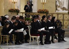 The members of Danish Royal attended Prince Henrik's funeral Prince Felix Of Denmark, Princess Marie Of Denmark, Princess Estelle, Princess Margaret, Crown Princess Mary, Prince And Princess, Princess Of Wales, Princess Charlotte, Denmark Royal Family