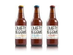 Packaging of the World: Creative Package Design Archive and Gallery: Crafty Beggars