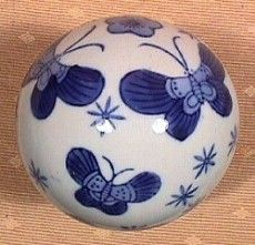 """The game of carpet bowls in which """"carpet balls"""" are used was very popular in late victorian England.  Today carpet balls are desired by antique collectors for their colorful, decorative nature.  Antique carpet balls can sell for several hundred dollars a piece for the most attractive of them."""