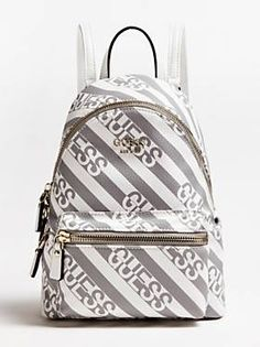 pcr/icongenzw | GUESS.com Guess Backpack, You Bag, Gold Hardware, Fashion Backpack, Shopping Bag, The Unit, Backpacks, Bags, Handbags