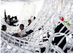Web maze:  Obstacle course