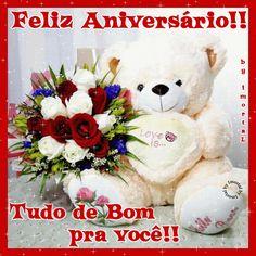 Feliz Aniversário!! Tudo de Bom pra você!!