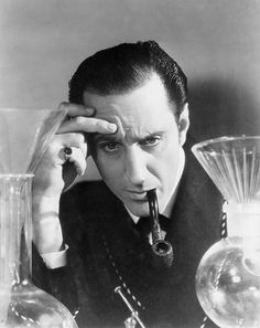 Don't get me wrong, I adore Benedict Cumberbatch....but inside my soul, Basil Rathbone has a very special place.