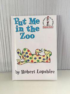 NEW Put Me In The Zoo-Robert Lopshire- Beginner Book for Children- Random House  | eBay