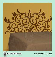 Cabeceira Casal 011 http://mejoganaparede.com.br/index.php/cabeceiras-cama-box