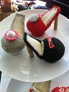 9 more of what you love, during New York Fashion Week, even: fashionista cupcake high heels by