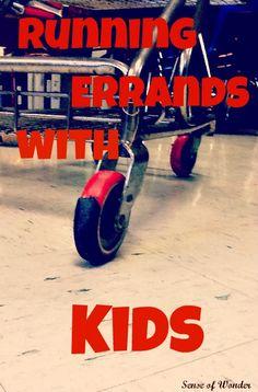 Running Errands with Kids