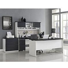 amazoncom altra furniture pursuit u configuration office set office products amazoncom bush furniture bow