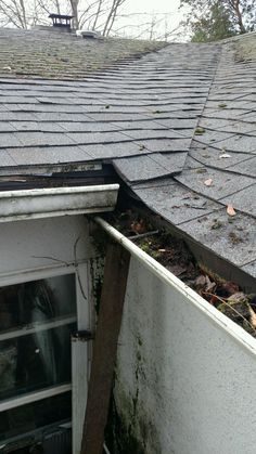 Moss Removal and Gutter Cleaning!