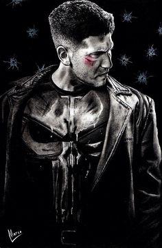 Marvel Comic Universe, Comics Universe, Marvel Comics, Marvel Series Movies, Sci Fi Movies, Punisher Marvel, Daredevil, Frank Castle Punisher, Captain Marvel