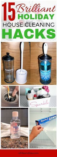 Cleaning tips for the holidays that will make your home sparkle and shine. You will really impress your family and friends with these amazing cleaning tips. #cleaning #home #hack #REPIN #holidays #diy