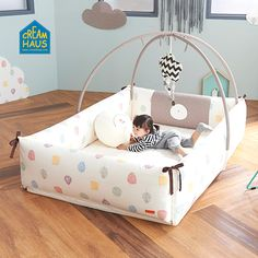 Creamhaus Inua Bumper Bed (Vivid) - Ready stock! A special bed for your loving child presented by Creamhaus!INUA Bumper bed, the safest bed for your child, is a