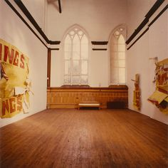 """In 1965, Rauschenberg left his Broadway studio after purchasing a former orphanage and chapel of Saint Joseph's Union Mission of the Immaculate Virgin on Lafayette Street. Not only was Lafayette Street a residence for Rauschenberg, it was a hub for his performance rehearsals, exhibitions, press conferences, and social gatherings. Rauschenberg lived and worked at the Lafayette Street building until 1971, when he relocated his studio to Captiva, Florida. ... Explore more sites from """"Bob's New…"""