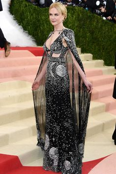 Nicole Kidman in Alexander McQueen 2016 Met Gala Best Dressed Celebrities