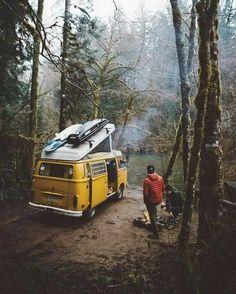 van life in the pacific northwest