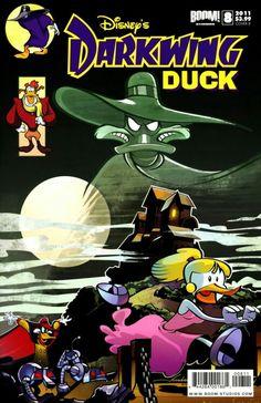 Darkwing Duck #8 by Diego Jourdan (classic Batman cover homage)