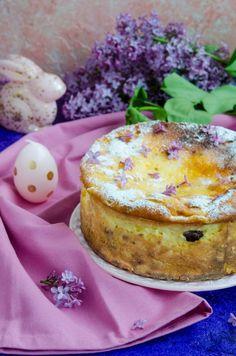 Pasca fara aluat - Din secretele bucătăriei chinezești Jacque Pepin, Pavlova, Salmon Burgers, Easy Desserts, Nutella, Camembert Cheese, Food To Make, Panna Cotta, Cheesecake