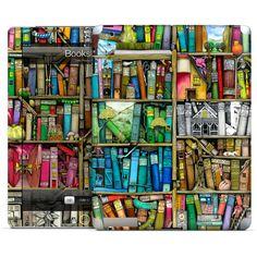 Bookshelf IPad skin