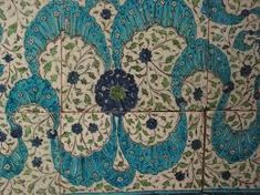Image result for the iznik parrots tile