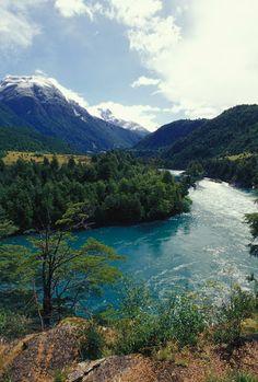 The stunning Rio Futaleufu in the heart of Patagonia
