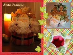 natal + porta panetone + decoração natal
