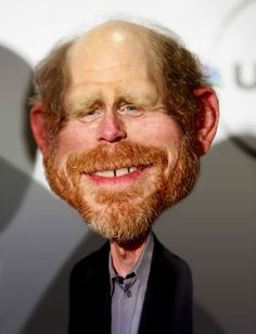 Ron Howard caricature